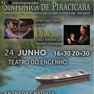 Orquestra Sinfônica de Piracicaba – 24 de Junho