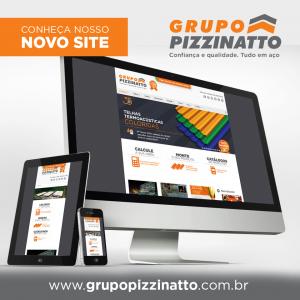 Grupo Pizzinatto lança novo site