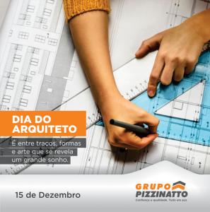 Dia do Arquiteto: 15 de Dezembro