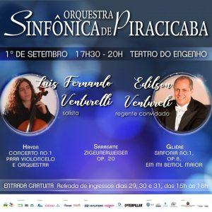Sinfônica de Piracicaba recebe o brasileiro mais jovem a se apresentar no Carnegie Hall