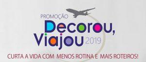 Promoção Decorou, Viajou 2019. Personna Associadas.
