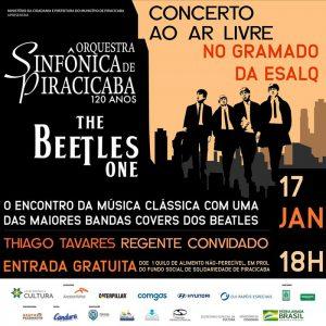 Sinfônica de Piracicaba se apresenta no dia 17 de Janeiro na Esalq