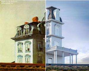 Como seriam 8 edifícios de pinturas famosas na vida real (Van Gogh está na lista)