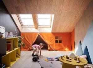 10 projetos de design de interiores pensados para crianças