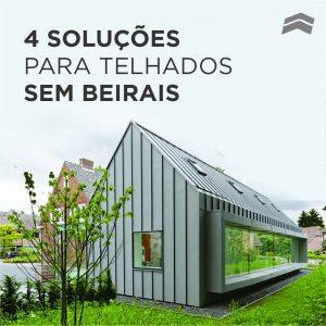 4 soluções para telhados sem beirais (e seus detalhes construtivos)