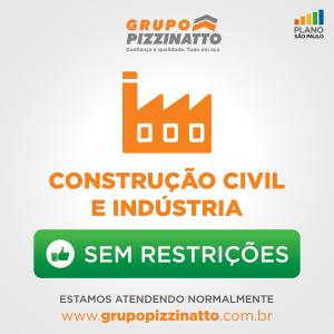 Construção Civil e Indústria: atividade essencial e sem restrições