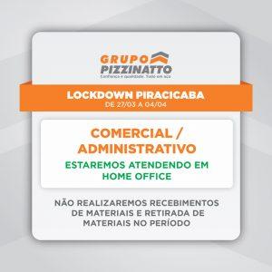 Lockdown em Piracicaba