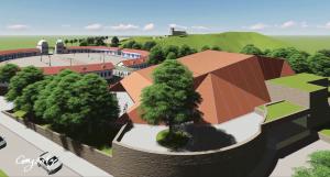 Grupo Pizzinatto fornece telhas para Teatro Municipal de Congonhas MG